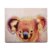 East Urban Home 'Cute Koala' Graphic Art Print on Wood