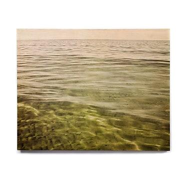 East Urban Home 'Mystic Sea' Graphic Art Print on Wood; 20'' H x 24'' W x 1'' D