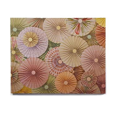 East Urban Home Pastels Abstract 'Spring' Photographic Print on Wood
