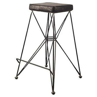 17 Stories Spencer 30'' Bar Stool w/ Cushion