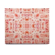 East Urban Home 'Scandanavian Square Pink' Graphic Art Print on Wood