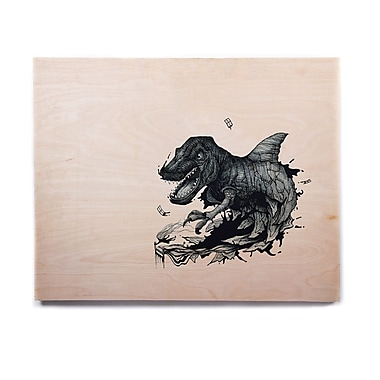East Urban Home 'The Blanket' Graphic Art Print on Wood; 8'' H x 10'' W x 1'' D