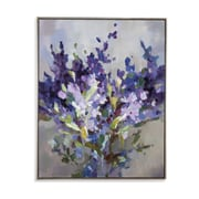 Darby Home Co 'Wisteria' Framed Print on Canvas