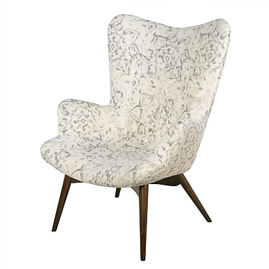 Corrigan Studio Alingtons Arm Chair; Smoky Petal
