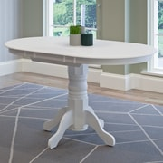 Darby Home Co Wallace Classic Extendable Dining Table; White