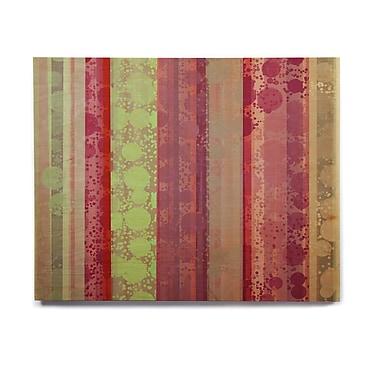 East Urban Home 'Magic Carpet' Painting Print on Wood; 11'' H x 14'' W x 1'' D