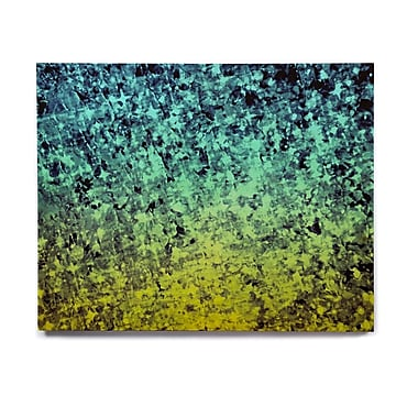 East Urban Home 'Ombre Love' Graphic Art Print on Wood; 8'' H x 10'' W x 1'' D