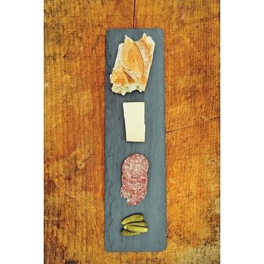 Gracie Oaks Downe Rectangular Slate Cheese Board
