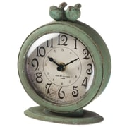 Ophelia & Co. Antiqued Birds Tabletop Clock
