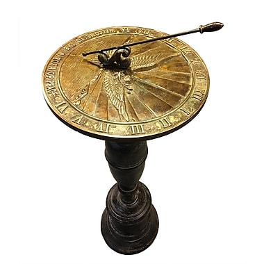Rome Industries Brass Peace Dove Sundial
