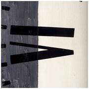 17 Stories Oversized 42'' White/Gray Wall Clock
