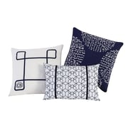clairebella Fractal 3 Piece Pillow