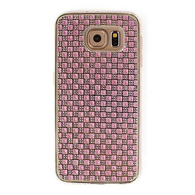 Zanko Gem Cell Phone Fitted Case for Samsung Galaxy S6, Pink (ZKT-RG-GS6-PK)