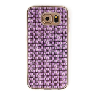 Zanko Gem Cell Phone Fitted Case for Samsung Galaxy S6, Purple (ZKT-RG-GS6-PR)
