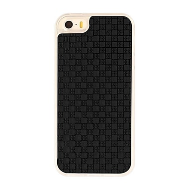 Zanko Gem Cell Phone Fitted Case for Apple iPhone 5S, Black (ZKT-RG-IP5S-BK)