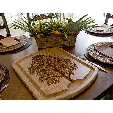 Totally Bamboo TB203003 Bamboo Family Tree Carving Board