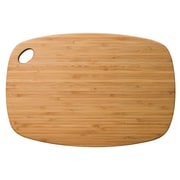 Totally Bamboo TB202222 Bamboo Medium Greenlite Utility Cutting Board