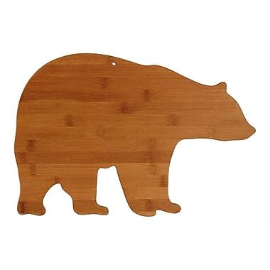 Totally Bamboo TB207675 Bear Shape Bamboo Cutting Board