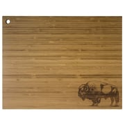 Totally Bamboo TB207765 Buffalo Bamboo Cutting/Serving Board