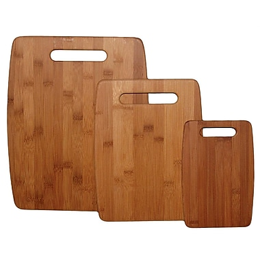 Totally Bamboo TB207920 Bamboo 3 Pc. Cutting Board Set