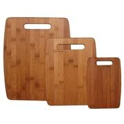 Totally Bamboo – Ensemble de planche à découper en bambou de 3 morceaux TO207920
