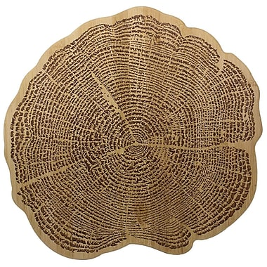 Totally Bamboo TB207774 Tree Of Life Bamboo Cutting/Serving Board
