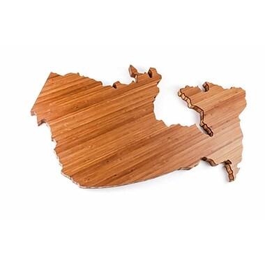 Totally Bamboo TB208059TOR Toronto City Bamboo Cutting Board