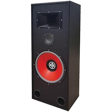 BIC America – Haut-parleur plancher, double amplificateur Eviction, haut-parleur d'aigu à pavillon haute efficacité (BICRTREV15)