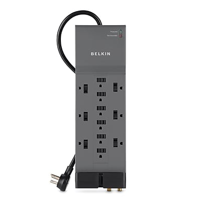 Belkin Home/office Surge Protector (12-outlet; Telephone & Coaxial Protection)