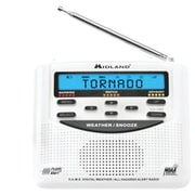 Midland WR120 Weather Radio, White