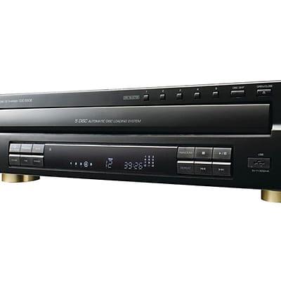 Sherwood CDC-5506 Front Loading Carrousel Multi-Disc Player