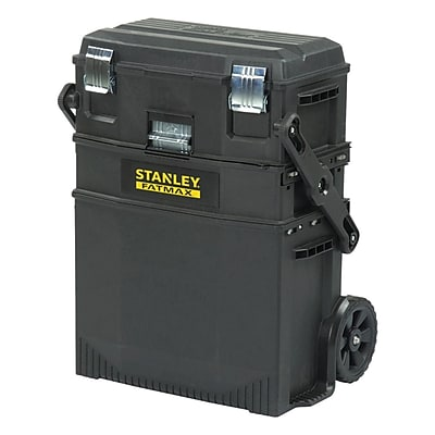 STANLEY® 020800R FatMax® 4-in-1 Mobile Work Station, Black