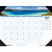 2018 House of Doolittle 22 x 17 Desk Pad Calendar Earthscapes™ Coastlines (178)