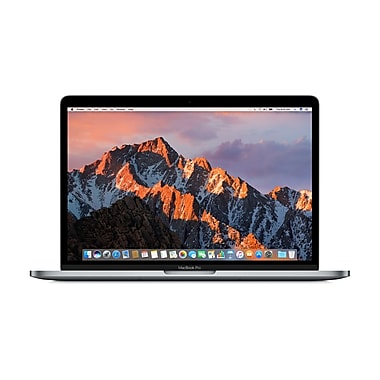 Apple – MacBook Pro MPXW2C/A 13 po avec Touch Bar, Intel Core i5 3,1 GHz, SSD 512 Go, 8 Go, MacOS Sierra, gris cosmique, franç.
