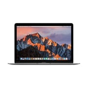 Apple – MacBook 12 po, Intel Core m3 1,2 GHz, SSD 256 Go, LPDDR3 8 Go, MacOS Sierra