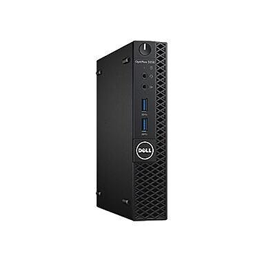 Dell™ OptiPlex JG20P 3050 Micro Business Desktop PC, Intel Core i5-7500T, 500GB HDD, 4GB RAM, WIN 10 Pro, Intel HD Graphic 630