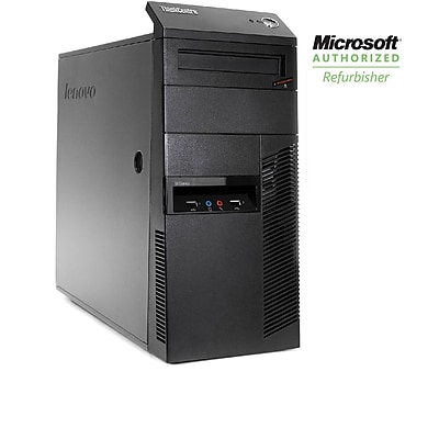 Refurbished Lenovo Thinkcentre M90 Tower Core i5, 3.2GHZ, 8GB 1TB DVD Win 10 Home