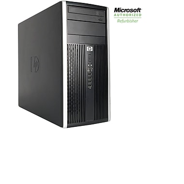 HP Refurbished Pro 6300 Tower Desktop Computer, 3.2 GHz Intel Core i5-3470, 2 TB HDD, 16 GB DDR3, Windows 10 Pro