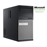 Refurbished Dell 7010 Tower, Core i7, 3.4GHZ 16GB 2TB DVDRW, Win 10 Pro