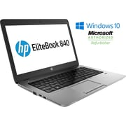 HP - Portatif EliteBook 840 G1 14 po remis à neuf, 1,9 GHz Intel Core i5-4300U, SSD 240 Go, 16 Go DDR3, Windows 10 Pro