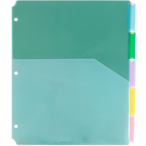 Shop Staples For JAM Paper® Index Tab Dividers With