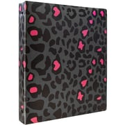 JAM Paper® Animal Print 3 Ring Binder, 1 inch, Cheetah, Sold Individually (373932757)