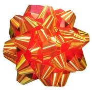 JAM Paper® Gift Bows, Small, 3.5 Diameter, Metallic Red, 12/pack (283613287)