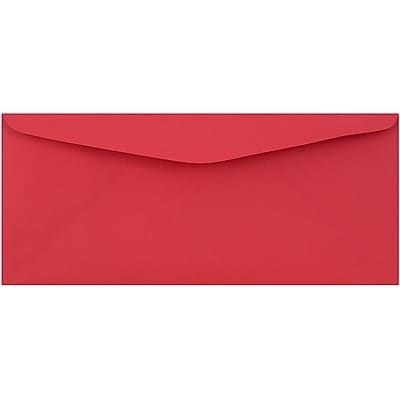 JAM Paper® #9 Envelopes, 3 7/8 x 8 7/8, Red Recycled, 500/pack (1532900c)