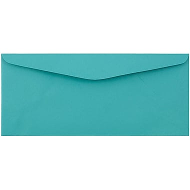 JAM Paper® #9 Envelopes, 3 7/8 x 8 7/8, Sea Blue Recycled, 1000/Pack