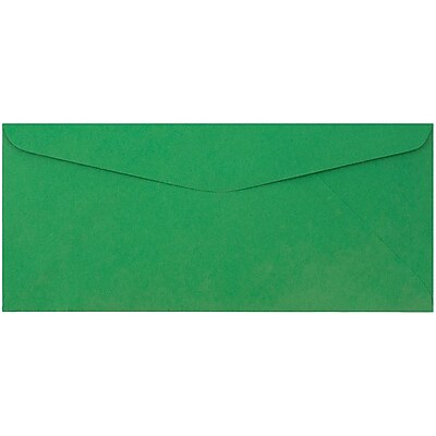 JAM Paper® #9 Envelopes, 3 7/8 x 8 7/8, Green Recycled, 50/pack (1532896i)