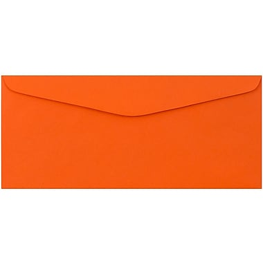 JAM Paper® #9 Envelopes, 3 7/8 x 8 7/8, Orange Recycled, 50/Pack (1532899I)