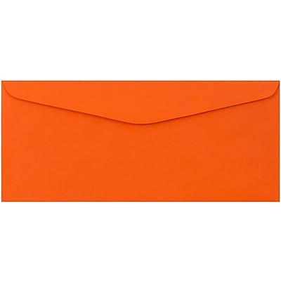 JAM Paper® #9 Envelopes, 3 7/8 x 8 7/8, Orange Recycled, 50/pack (1532899i)