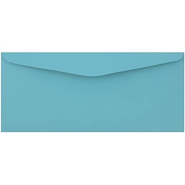 JAM Paper® #9 Envelopes, 3 7/8 x 8 7/8, Blue Recycled, 500/Pack