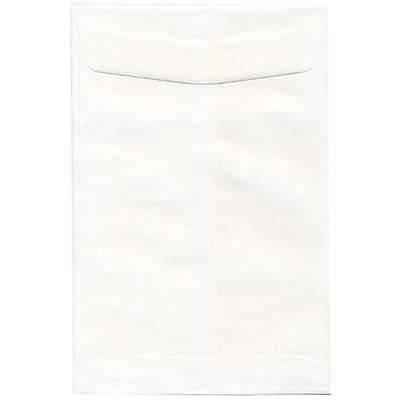 JAM Paper® 6.5 x 9.5 Open End Envelopes, White, 50/pack (1623193i)